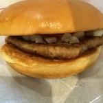 モスバーガー - 料理写真:ハンバーガー170円