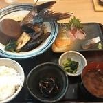 炉ばた 魚魚炭 - かま大根煮定食¥980