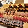 楽座 - 料理写真:特上握り寿司4人前