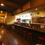 Fuuraiken - 内観写真:落ち着いた雰囲気で カウンター テーブル 座敷の 全59席