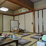 そば岡本 - そば岡本・店内(2014.12)
