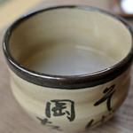 そば岡本 - そば岡本・そば湯(2014.12)