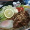 ニューサフラン喫茶 - 料理写真:生姜焼き定食