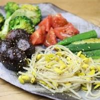 新鮮で美味しい旬野菜も味わえます◎