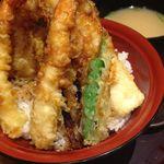 天ぷら海鮮 五福 - 天丼 2015.02.22