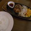 ベリーグッドマン - 料理写真:おろしポン酢ハンバーグ(ランチのB)