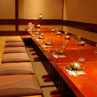 ◆送別会◆幹事様必見◎掘り炬燵完全個室は最大24名様まで可能