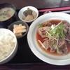 ビー イースト - 料理写真:豚肉豆腐定食 850円(税込)(2015年4月1日撮影)