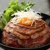肉と生パスタの店 at Den - 料理写真:名物レアローストビーフ丼