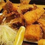 36480254 - 魚のアラ唐揚げ定食
