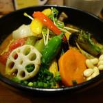 36482412 - 20品目の野菜のスープカレー、ルーのみ