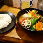36482415 - 20品目の野菜のスープカレー