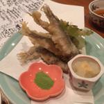 豊。 - 稚鮎の天ぷら