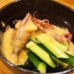 亀すし 本店 - ほたるいか酢味噌