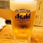 亀すし 本店 - 生ビール