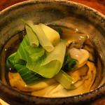 36502735 - 塩釜の牡蠣の出汁酢