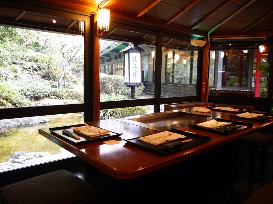 ガーデンレストラン 清泉亭