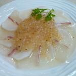 あじいち - 桜鯛とカブのカルパッチョ