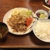 天重 - 料理写真:豚の生姜焼き(930円)