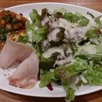 トラットリア ラ ココリコ - ランチ サラダ