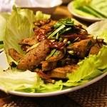 インター - 料理写真:タップワーン(1,200円)レバーのサラダ