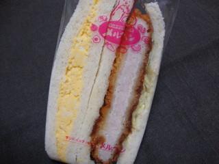 サンドイッチハウス メルヘン - メルヘン ペアサンド(カツとタマゴ)