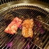 炭火焼肉 牛小屋 - 料理写真:食べ頃とこれから