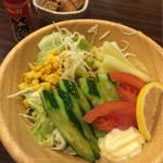 居酒屋 関所 - グリーンサラダ