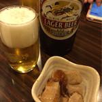 居酒屋 関所 - お通しのマグロ角煮