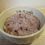 りせっとcafe - 五穀米のお粥