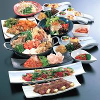 手作りと鮮度にこだわった多種多様な料理のラインナップ