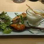 クローバー - 前菜とスープ