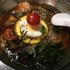 赤いとうがらし - 料理写真:冷麺、700円です。