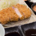 のもと家 - 料理写真:ロースかつ定食(160g)【2015年4月】