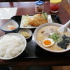 ドライブイン竜瀬 - 料理写真:ラーメン定食 \780