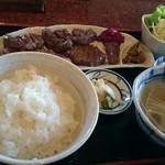 牛たん五徳 - 特盛牛たん定食