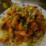 台湾料理 餃子の舞 - 料理写真:ぽくないけど油淋鶏