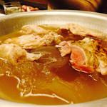 はし田屋 - 水炊き    ぷるぷるスープ