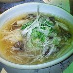 京の町 - 揚げ出し豆腐茸あんかけ