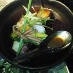 京の町 - 銀鱈の甘酢あんかけ