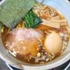 麺屋 番 - 料理写真:味玉ラーメン(醤油、太麺)