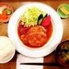 こはく - 料理写真:生姜焼き定食。夕方18時半から23時半まで、定食もやっている。