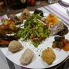 ラ マニ ビーンズ - 料理写真:前菜盛り合わせ1.5人前2000円はかなりボリューミー!!