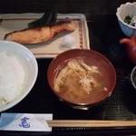 竃 - キングサーモンの味噌漬け焼き