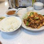 キングチャイナ - 豚キムチ定食