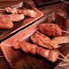 鶏頂天 - 料理写真:ひな鳥、手羽、つくね