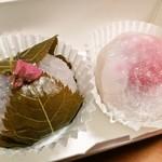 喜楽 - 桜餅・いちご餅