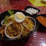 南インド家庭料理 インダスレイ - チキン・ビリヤニ2