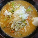栄雅  - 野菜味噌ラーメン