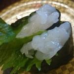 すし 銚子丸 - 白エビ